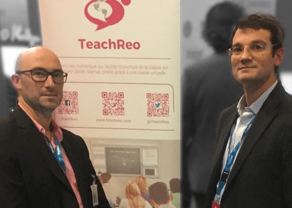 Fabrice Lenoble: «TeachReo démocratise les classes virtuelles»