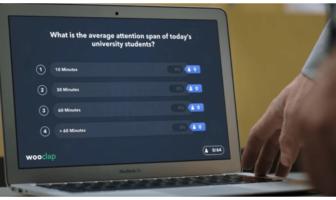 Enseigner à distance : Wooclap a donné la parole à un professeur