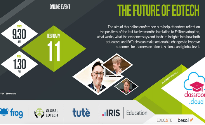 "Conférence : ""The Future of EdTech"""